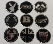 50mm Alloy Wheel Center Centre Badges (P3)