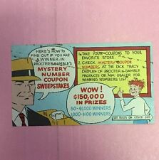 BP173 1962 Chicago Tribune New York Daily News Syndicate Mystery # Coupon