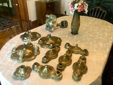 10 Signed Antique Art Deco, Arts&Crafts, Mission Ceiling Light Fixtures, 1920's