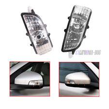 Pair L + R Wing Mirror Indicator Lens Light Lamp For Volvo S40 V50 C30 S60 V70