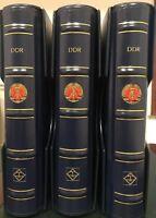Collezione DDR completa   extra!! 3 volumi Leuchtturm  COMPLETE  *******$$$$$$$$