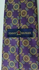 Men'sTommy Hilfiger Purple Silk Tie. Very nice preowned in great condition Super