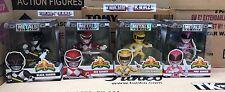 Power Rangers Ranger 4 pulgadas Amarillo metales Die-Cast Figura De Acción