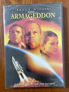 Armageddon (DVD, 1998) New Sealed/ Wide Screen Edition