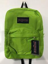 JANSPORT Backpack School Bag - Lime Green