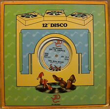 "1979 12"" Disco Single TWO MAN SOUND Que Tal America"
