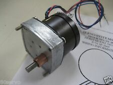 HURST SYNCHRONOUS GEARHEAD GEARED MOTOR 115VAC
