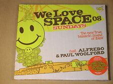 BOITIER 2 CD / WE LOVE SPACE SUNDAYS 08 / NEUF SOUS CELLO