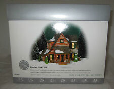 Department Dept 56 New England Village Series MOUNTAIN VIEW CABIN 25 #56.56625