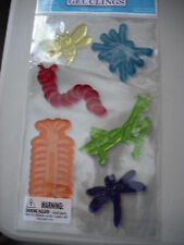 Window Insects Bug Gel Clings Bumble Bee, Spider, Mantis, Caterpillar, Centipede