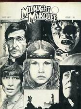 REVUE EN ANGLAIS. MIDNIGHT MARQUEE N°26. SEPTEMBRE 1977.