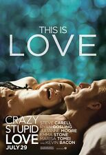 Crazy Stupid Love movie poster : Ryan Gosling poster, Emma Stone 11 x 17 inches