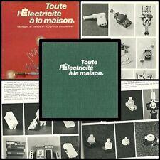 TOUTE l'ELECTRICITE A LA MAISON MONTAGES ET TRAVAUX EN 500 PHOTOS COMMENTEES