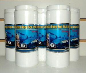 5 Bottles Ocean Omega-3 Alaska Deep Sea Fish Oil 200 softgels 阿拉斯加深海鱼油