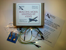 Beacons Model Lighting Kit #300S - LED Lights for Static Model Aircraft