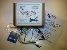 Kit d'éclairage balises modèle # 300S-lumières led pour les avions de modèle statique