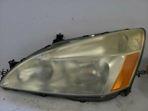 2003-2007 HONDA ACCORD LEFT DRIVER HALOGEN HEADLIGHT LAMP OEM