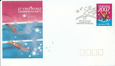2006 FDC 12th Fina World Swimming on FD1 20 Feb Melbourne Special Postmark