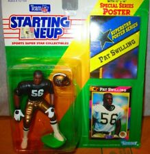 1992 STARTING LINEUP  SLU NFL PAT SWILLING #56  NEW ORLEANS SAINTS 🔥