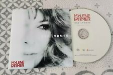 Mylène Farmer - CD promo *** DES LARMES ***  Centreur gravé - NEUF !!!