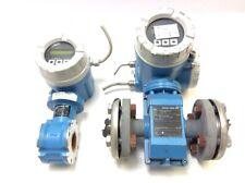 Set Endress Hauser Proline Promag D und P Durchflussmessgeräte 1x D 10D40-5CGA1A