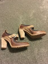 ac21825a651 TIMBERLAND EARTHKEEPERS Chauncey Lug Sole Pumps Brown 6M NWOB