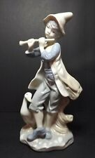 Duncan Royale - Boy with flute, and Goose, Fine Porcelain Figurine Pre-Owned