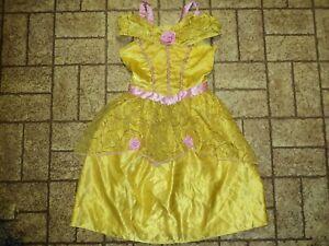 Disney Princess Bell Dress Halloween Costume. Sz. Med 7-8. Sparkly!