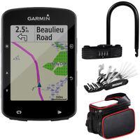 Garmin Edge 520 Plus Cycling GPS w/ Deco Gear Bike Tool Kit, Lock & Mount Bundle