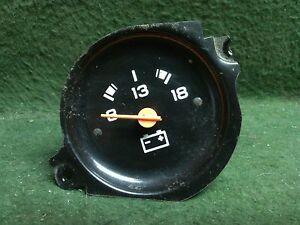 1975 - 1980 Chevrolet GMC 1/2 ton pickup voltage amp gauge    Used OEM