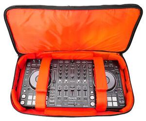 Rockville RDJB20 DJ Controller Travel Bag Case For Pioneer DDJ-SX2, DDJ-T1