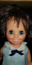 Vintage Ideal Toy Corp. Doll Mia from Crissy Family Growing Hair Brunette 1970