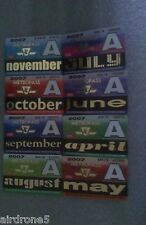 HUGE COLLECTION OF TTC METROPASSES FROM 2007&UP, ESTATE FIND, RARE