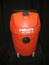 HILTI VC 125-9 WET/DRY VACUUM CLEANER W/Drill Shroud