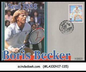 PARAGUAY - 1988 BORIS BECKER / SEOL 1988 / TENNIS - FDC