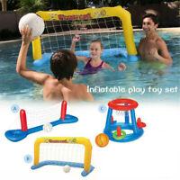 Volleyball Basketball Netze Wasserspiel Pool Kinder Spielzeug Spass Wasserball