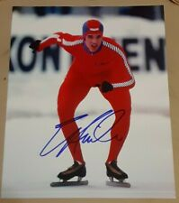Eric Heiden Olympic Gold Medalist Speed Skating SIGNED AUTOGRAPHED 8x10 Photo 2
