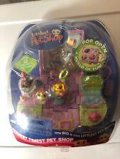 Littlest Pet Shop Teeniest Tiniest 3 Mini Pets Pop Open 2006 BraND nEW