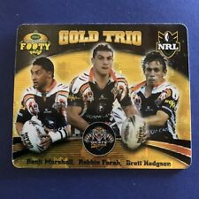 2007 Gold Series NRL Footy Tazo Gold Trio #64 West Tigers