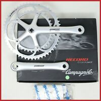 NOS CAMPAGNOLO RECORD CRANKSET 175mm 53-39T UD EPS 10s SPEED SQUARE TAPER BIKE