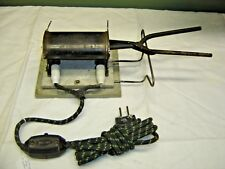 Antique Curling Iron Warmer with Curling Iron.7826