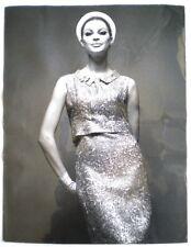 2 PHOTOS DE MODE ORIGINALES DE RAUCH CARVEN PRINTEMPS ETE 1966 (26)