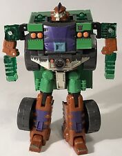 Transformers Energon Demolishor Figure Deluxe Class Combat DX Powerlinx Green