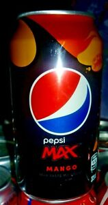 Collectable Pepsi cans:  Pepsi Max Mango 375ml can