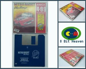 NITRO BOOST CHALLENGE BY CODEMASTERS FOR COMMODORE AMIGA - TESTED & WORKING