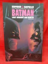 OF 3 BATMAN LAST KNIGHT ON EARTH #2 PRE-ORDER FOR LATEJULY