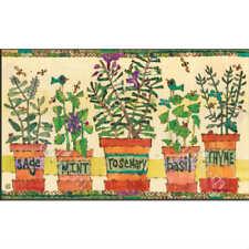 Studio M MatMate Doormat, Herb Garden