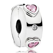 PANDORA Charm Clip Element 796591 FPC Herzen Silber Bead