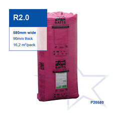 R2.0 | 580mm Pink Batts® Thermal Glasswool Wall Insulation