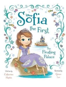 DISNEY JUNIOR SOFIA THE FIRST The Floating Palace Deluxe Picture Book-NEW